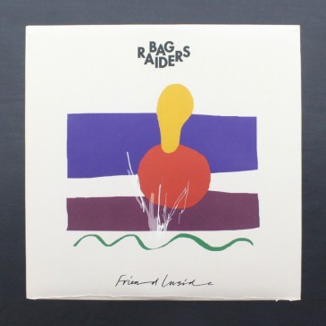 "Bag Raiders - Friend Inside (white vinyl) - 12"" EP"
