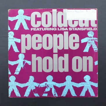 """Coldcut - People Hold On - 12"""" (used)"""