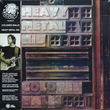 Coloured Balls - Heavy Metal Kid - 180g LP