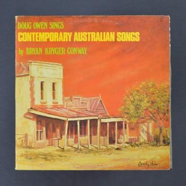 Doug Owens Sings – Contemporary Australian Songs by Bryan Kryger Conway - LP (used)