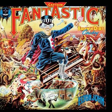 Elton John - Captain Fantastic and the Brown Dirt Cowboy - LP