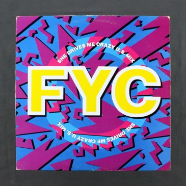 """Fine Young Cannibals - She Drives Me Crazy U.S. Mix - 12"""" (used)"""