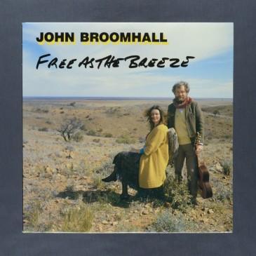 John Broomhall - Free As The Breeze - LP (used)