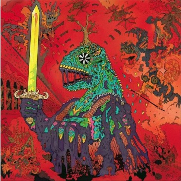 King Gizzard and The Lizard Wizard - 12 Bar Bruise - Green Vinyl LP