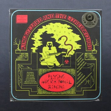 King Gizzard & The Lizard Wizard - Flying Microtonal Banana (Alternate Cover, Banana Yellow Wax) - LP