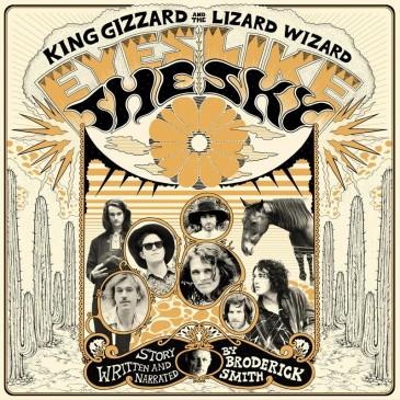 King Gizzard and The Lizard Wizard - Eyes Like The Sky - Orange Vinyl LP