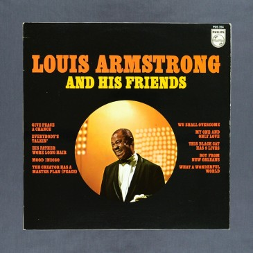 Louis Armstrong - And His Friends - LP (used)