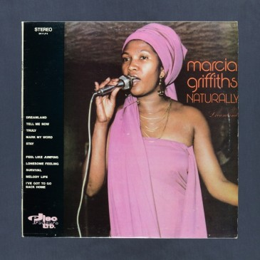 Marcia Griffiths - Naturally - LP (used)