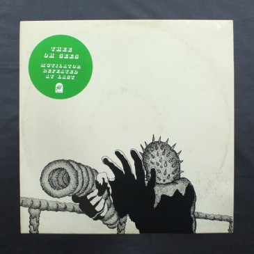 Thee Oh Sees - Mutilator Defeated At Last (clear vinyl with orange blob) - LP