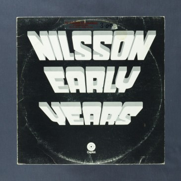 Nilsson - Early Years - LP (used)