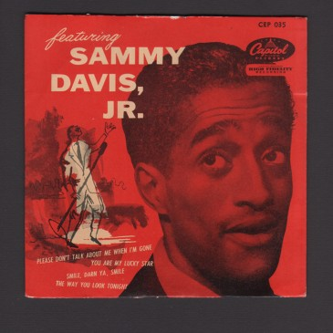 Sammy Davis Jr. - Featuring Sammy Davis Jr. (pic sleeve) - EP (used)