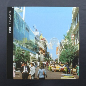 Pond - The Weather (white vinyl with blue splatter) -  LP (Front)