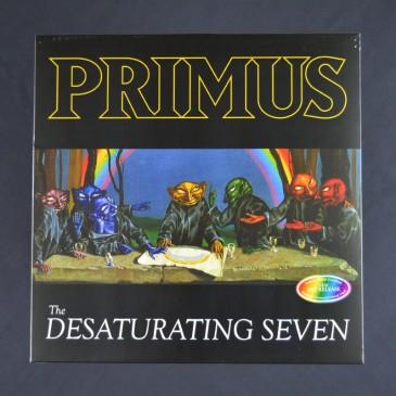 Primus - The Desaturating Seven - Rainbow Splattered Colored Vinyl LP