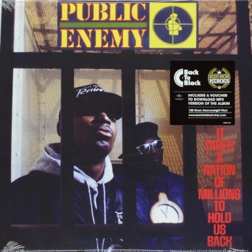 Public Enemy - It Takes A Nation Of Millions To Hold Us Back - 180g LP
