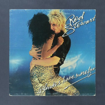 Rod Stewart - Blondes Have More Fun - LP (used)