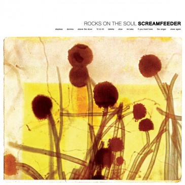 Screamfeeder - Rocks on the Soul - Yellow Sunshine Vinyl LP