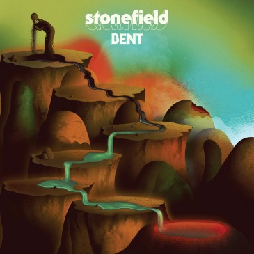 Stonefield - Bent - Red Vinyl LP