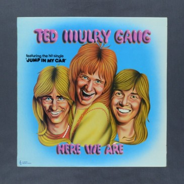 Ted Mulry Gang - Here We Are - LP (used)