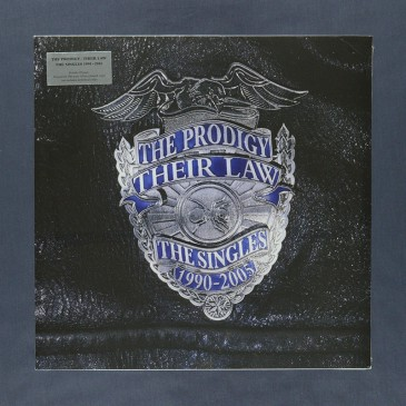 The Prodigy - Their Law - The Singles 1990-2005 - Silver coloured 2xLP