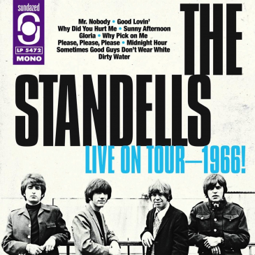 The Standells ‎- Live On Tour - 1966 - 180g LP