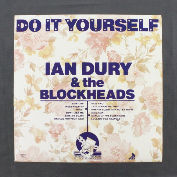 Ian dury the blockheads do it yourself lp used vinyl lps ian dury the blockheads do it yourself lp used solutioingenieria Gallery