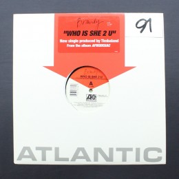 "Brandy - Who Is She 2 U - 12"" (used)"