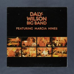 Daly-Wilson Big Band featuring Marcia Hines - Daly-Wilson Big Band - LP (used)