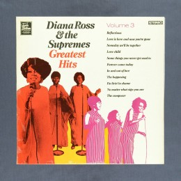 Diana Ross & The Supremes - Greatest Hits Volume 3 - LP (used)