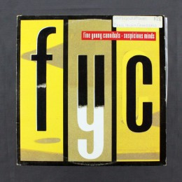 """Fine Young Cannibals - Suspicious Minds - 12"""" (used)"""