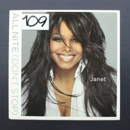 "Janet Jackson - All Nite (Don't Stop) - 12"" (used)"