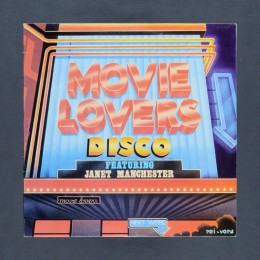 Janet Manchester - Movie Lovers Disco - LP (used)
