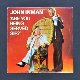 John Inman - Are You Being Served? - LP (used)