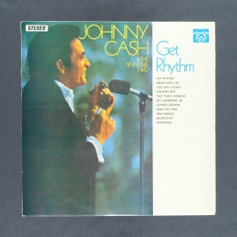 Johnny Cash & the Tennessee Two - Get Rhythm - LP (used)