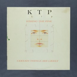 Kissing the Pink - Certain Things Are Likely - LP (used)