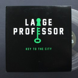 "Large Professor - Key To The City (clear vinyl) - 12"" (used)"