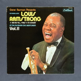 Louis Armstrong and His All-Stars - In Concert at the Pasadena Civic Auditorium Vol. II - LP (used)