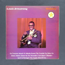 Louis Armstrong - Treasury - LP (used)