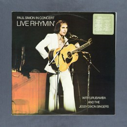 Paul Simon with Urubamba and The Jessy Dixon Singers - In Concert – Live Rhymin' - LP (used)