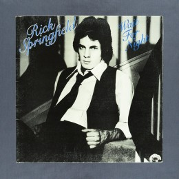 Rick Springfield ‎- Wait For Night - LP (used)