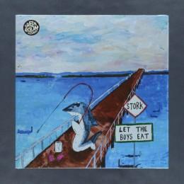 STORK - Let The Boys Eat - Ocean Blue Vinyl LP
