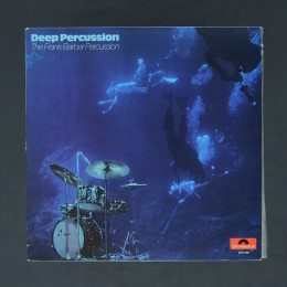 The Frank Barber Percussion ‎- Deep Percussion - LP (used)