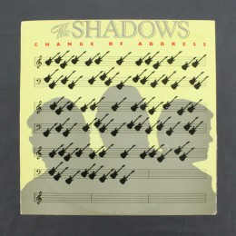 The Shadows - Change Of Address - LP (used)