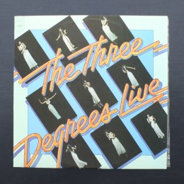 The Three Degrees - Live - LP (used)