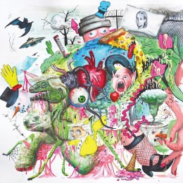 Tropical Fuck Storm - Braindrops - Neon Violet Vinyl LP (PRE-ORDER)