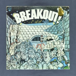 Various Artists - Breakout! – Top 50 Hits Of Today (compilation) - LP (used)