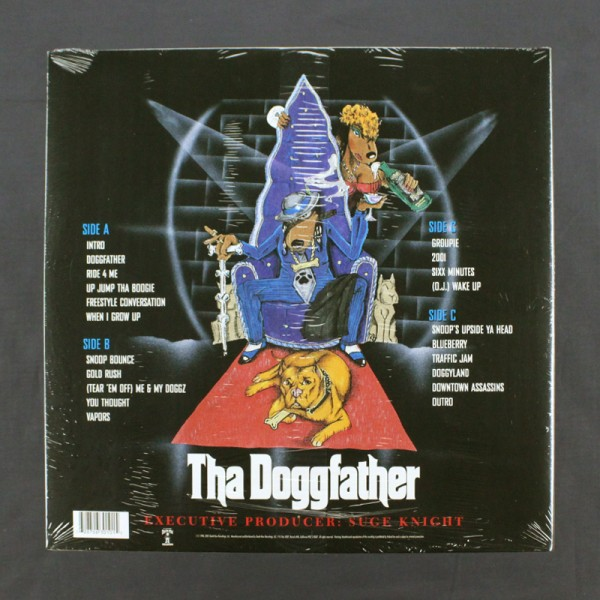 Snoop Dogg - Tha Doggfather - 2xLP - Vinyl LP's | Goodwax
